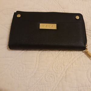 Bebe black wallet new paid 49